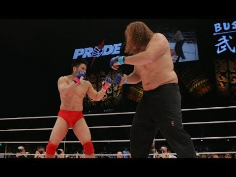 Ikuhisa Minowa Vs Giant Silva Pride Fc.