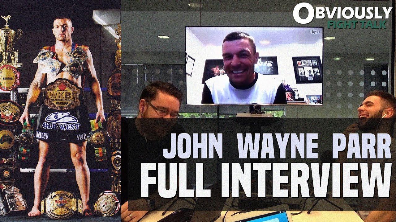 John Wayne Parr x10 World Muay Thai Champion.