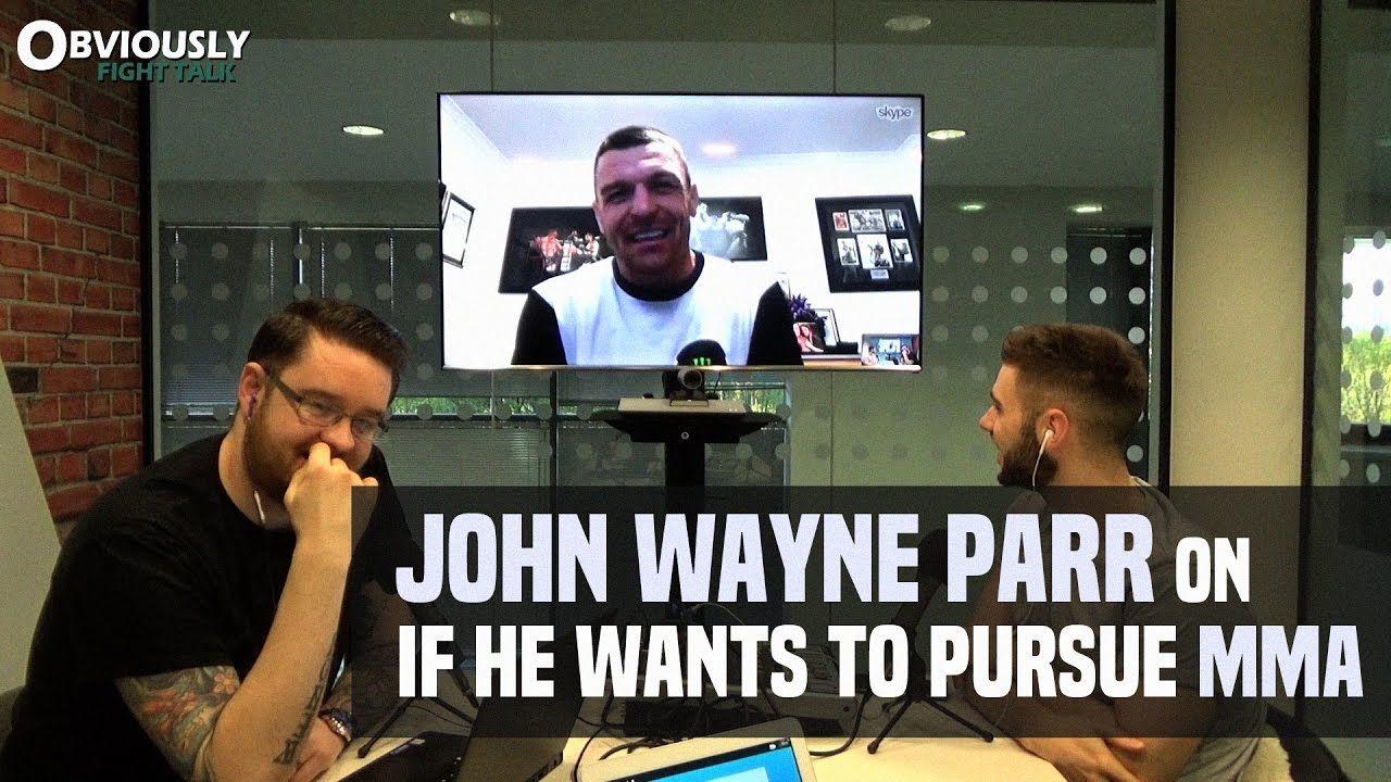 John Wayne Parr in mma?