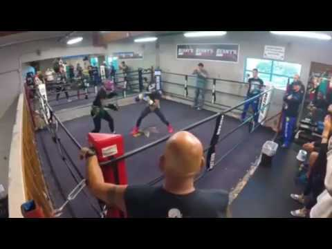 Vasyl Lomachenko sparring former UFC champion TJ Dillashaw.