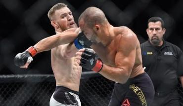 Conor McGregor vs Eddie Alvarez knockout.