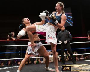 Muay Thai Jorina 'JoJo' Baars vs Cyborg.