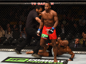 Lorenz Larkin walkoff knockout Bellator.