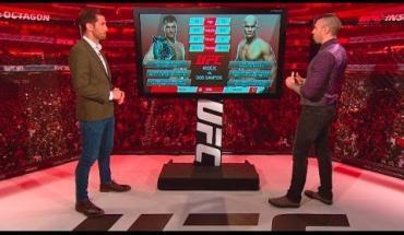 UFC 211 Miocic and Dos Santos.