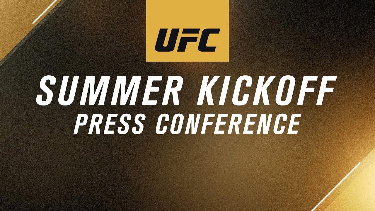 UFC Summer full live press conference.