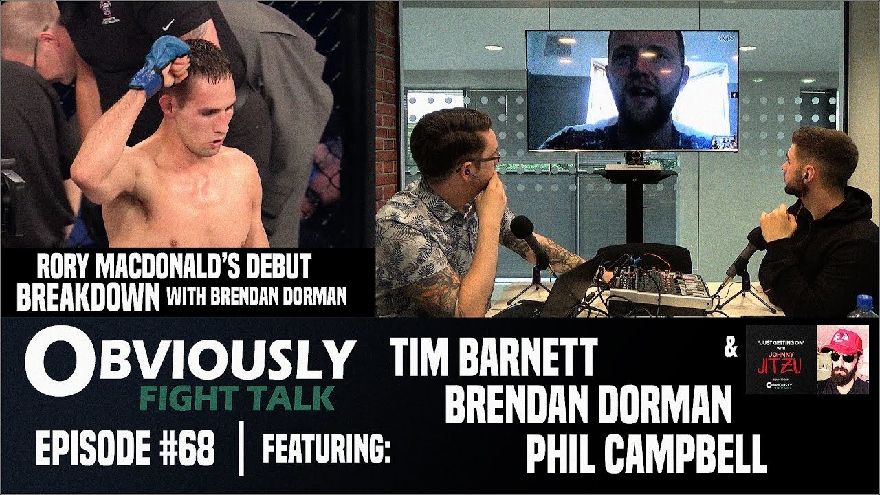 Rory MacDonald breakdown, BAMMA and more.