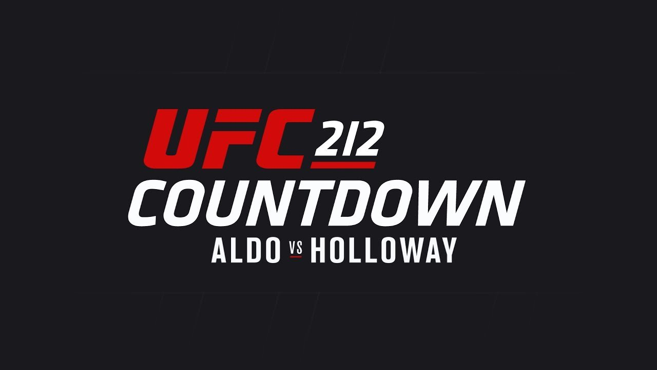 Ufc 212 Countdown Sees Jose Aldo And Max Holloway Prepare For Fight.