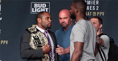 Jon Jones and Daniel Cormier square off UFC 214.