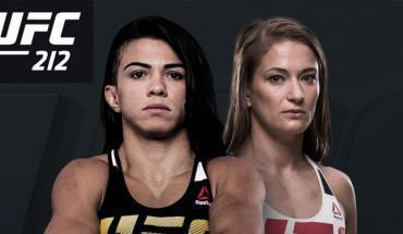 Karolina Kowalkiewicz vs Claudia Gadelha UFC 212.
