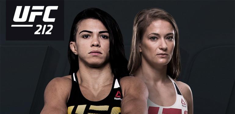 UFC 212: Claudia Gadelha vs. Karolina Kowalkiewicz