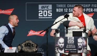 UFC 205 Eddie Alvarez presser.
