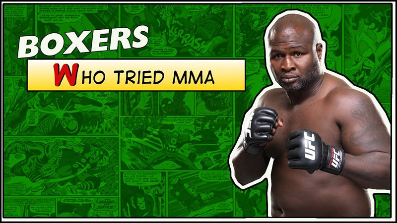 Boxers in mixed martial arts.