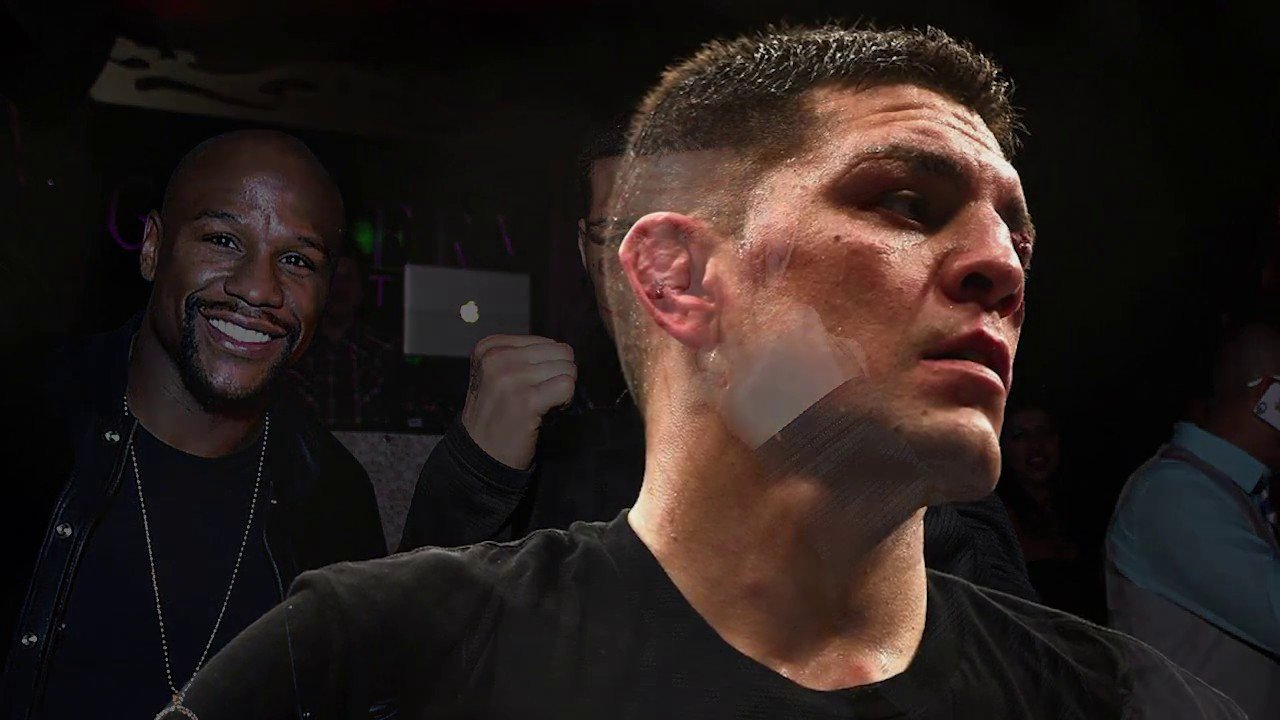 Nick diaz talks Mayweather vs McGregor.