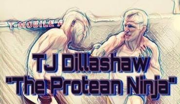 TJ Dillashaw protein ninja.