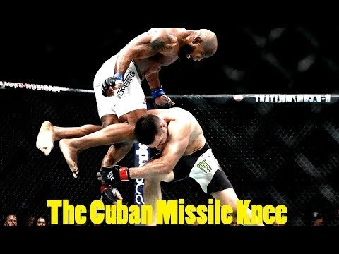 Yoel Romero and that knee.