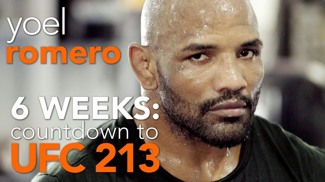 Yoel romero UFC 213 countdown episode one.