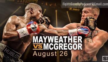 Floyd Mayweather versus Conor McGregor podcast.