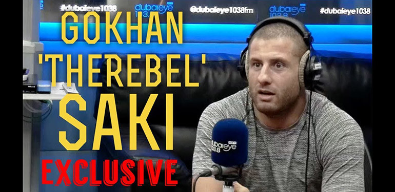 Gokhan Saki Dubai interview.