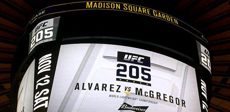 UFC Madison Square Garden.