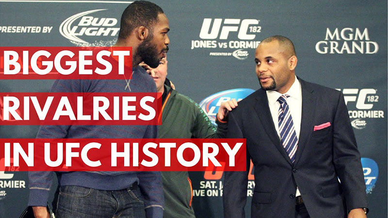Top 5 Ufc Rivalries In The Sport.