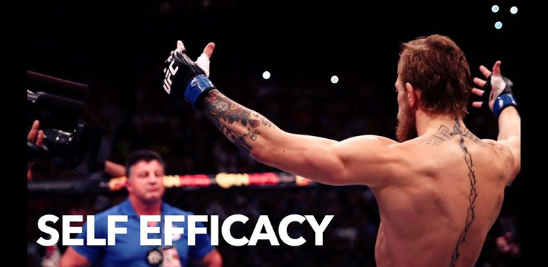 Conor Mcgregor personality in the sport of MMA.