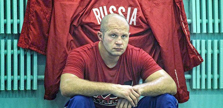 Fedor Emelianenko At Bellator Nyc.