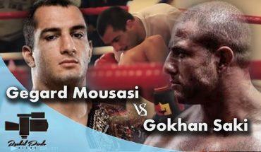Gegard mousasi sparring Gokhan Saki.