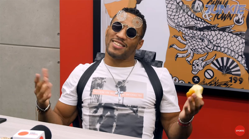 Kevin Lee UFC Oklahoma interview.