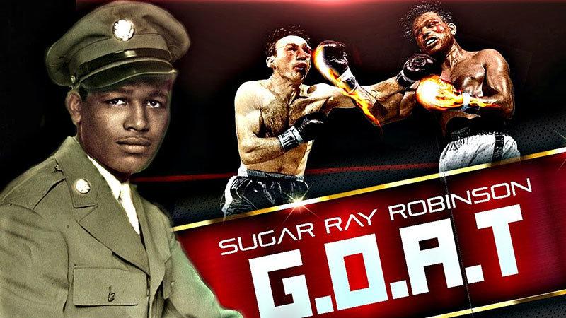 Sugar Ray Robinson Pound For Pound Boxer.