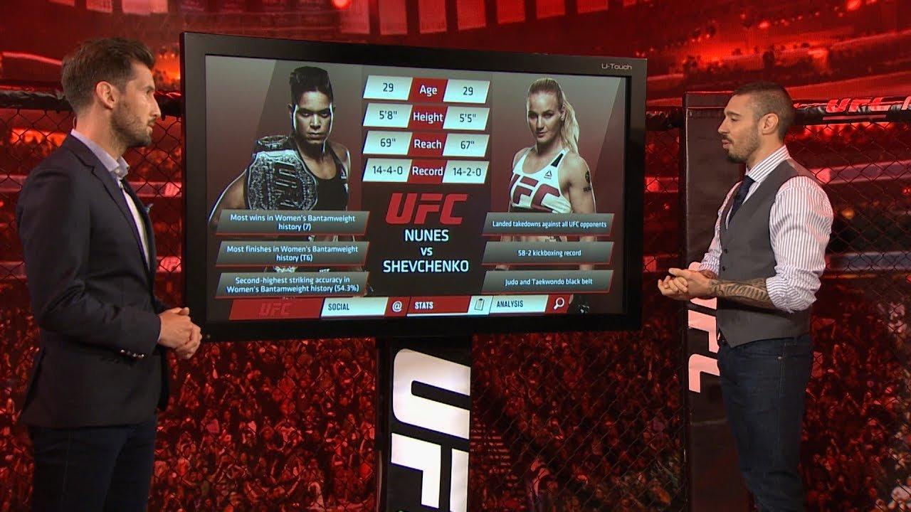 UFC 213 Inside the Octagon.