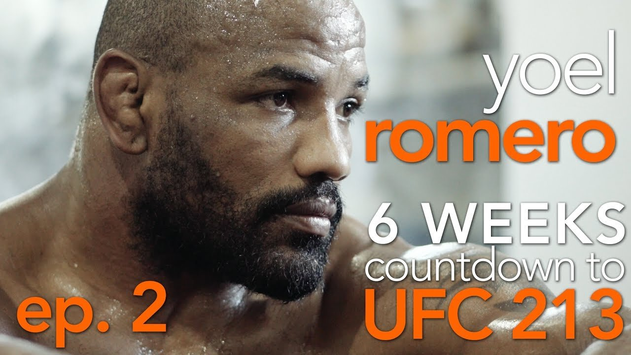 Yoel Romero 6 weeks out show.