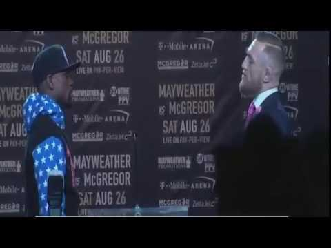 Conor McGregor vs Floyd Mayweather.