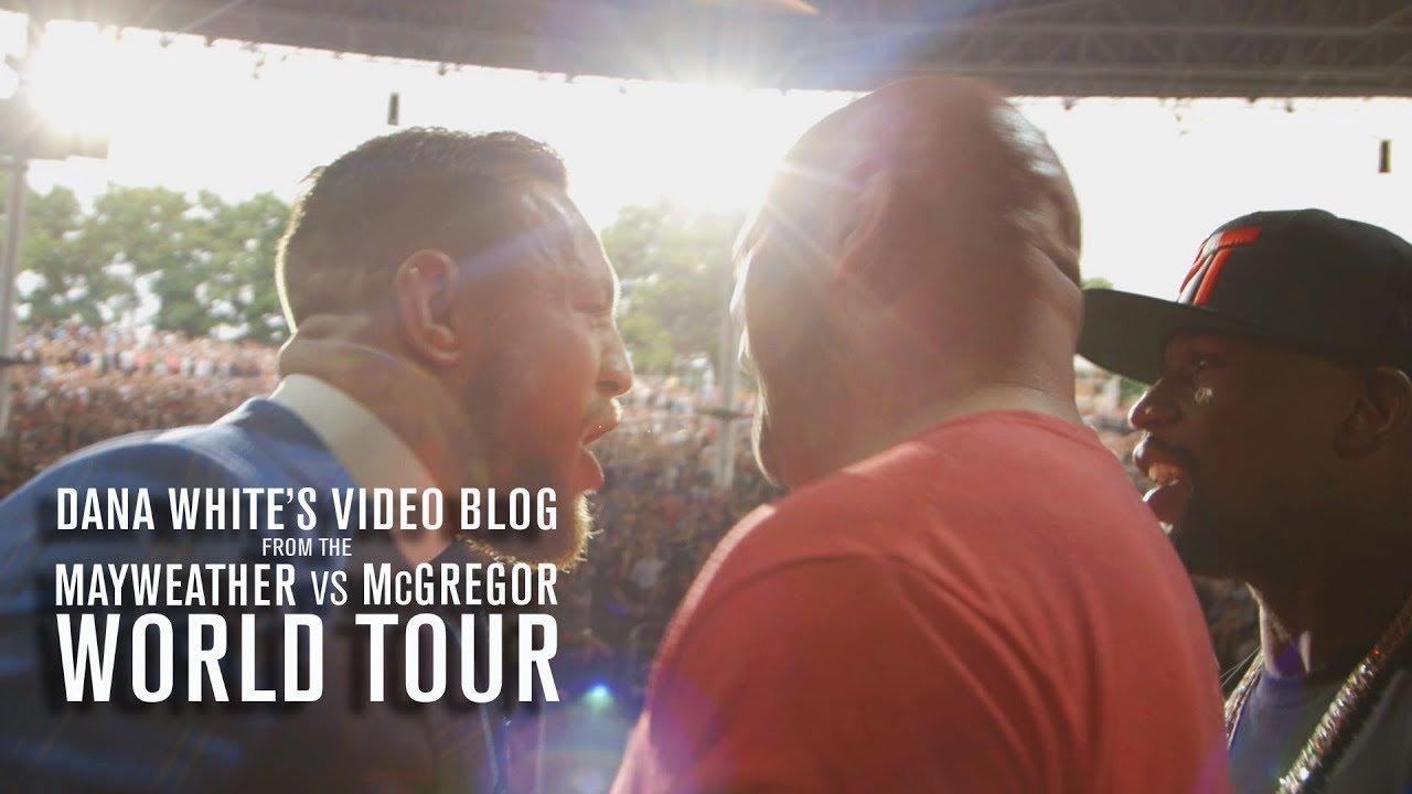 Dana White vlog 4 world tour.