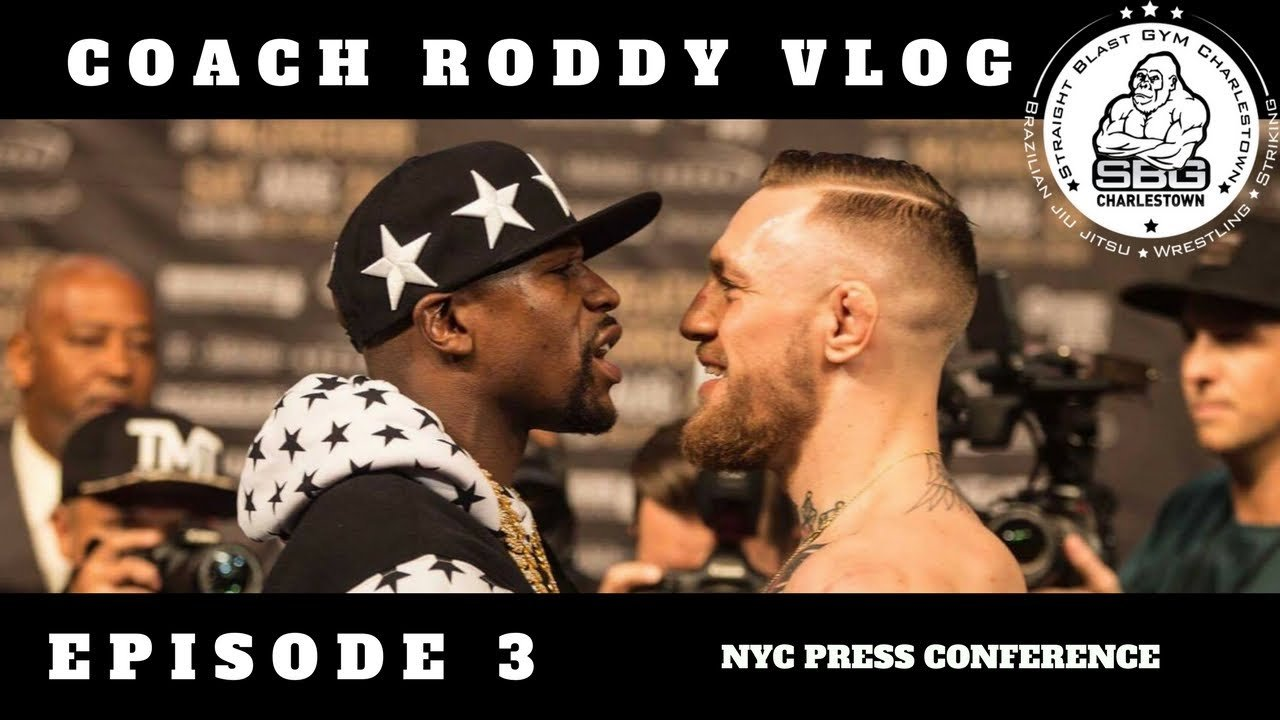 McGregor and Mayweather vlog 4.
