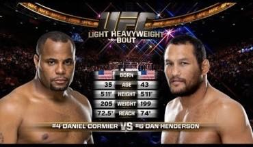Daniel Cormier vs Dan Henderson ufc 214.