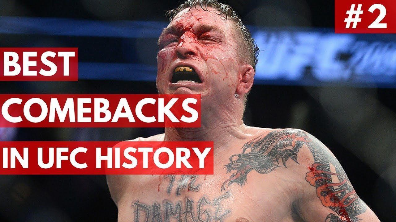 UFC top 5 comebacks #2.