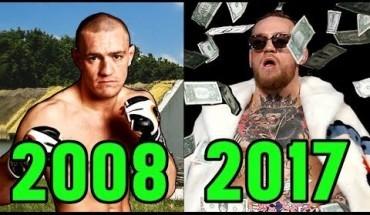 Conor McGregor's evolution 2008 - 2017.