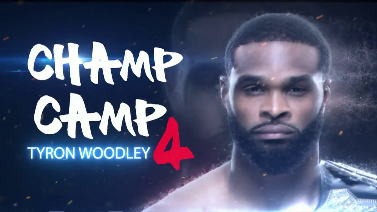 Tyron woodley UFC 214 champ camp.