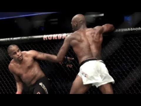 "Jon ""Bones"" Jones kick to the head."