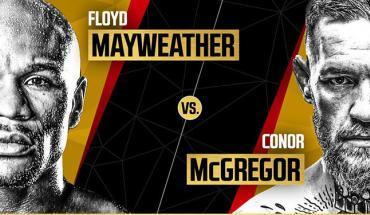 Mayweather vs McGregor press Conference.