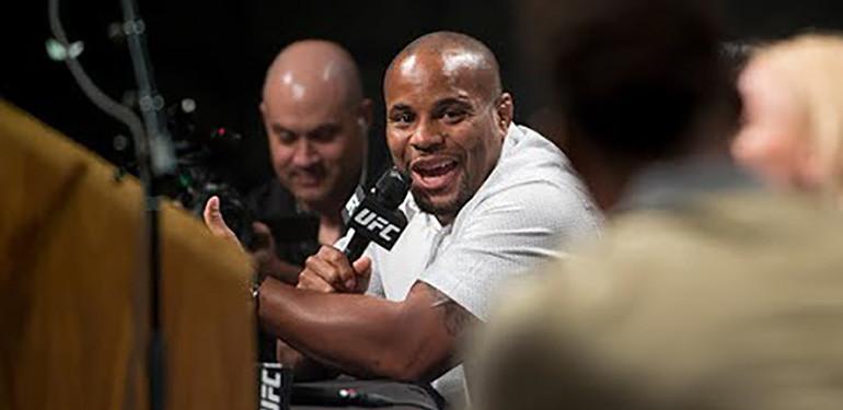 UFC 214 press conference.