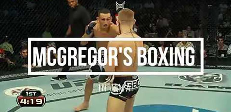 Conor Mcgregor Boxing In Mma.