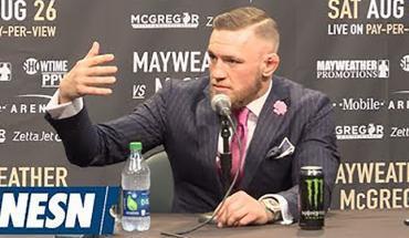 Conor Mcgregor vs floyd Mayweather senior.