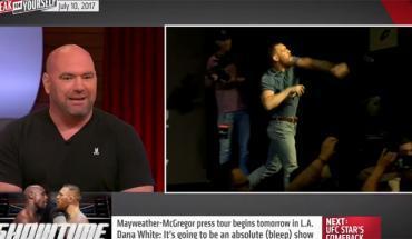 Dana White talks Conor Mcgregor.