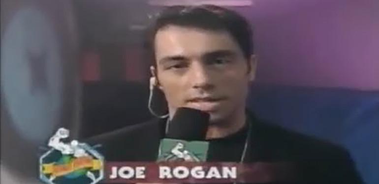 Joe Rogan First Ufc Appearance.