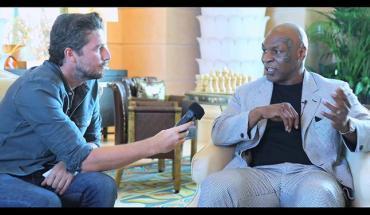 Mike Tyson Dubai interview.