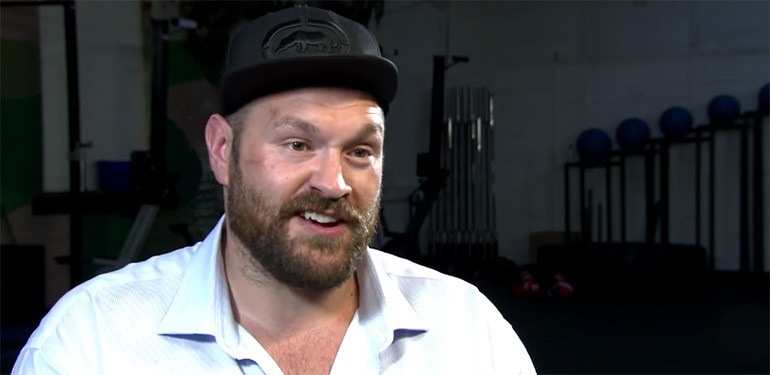 Tyson Fury exclusive interview.