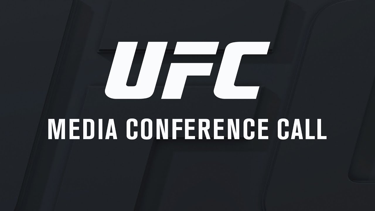 UFC 214 media conference call.