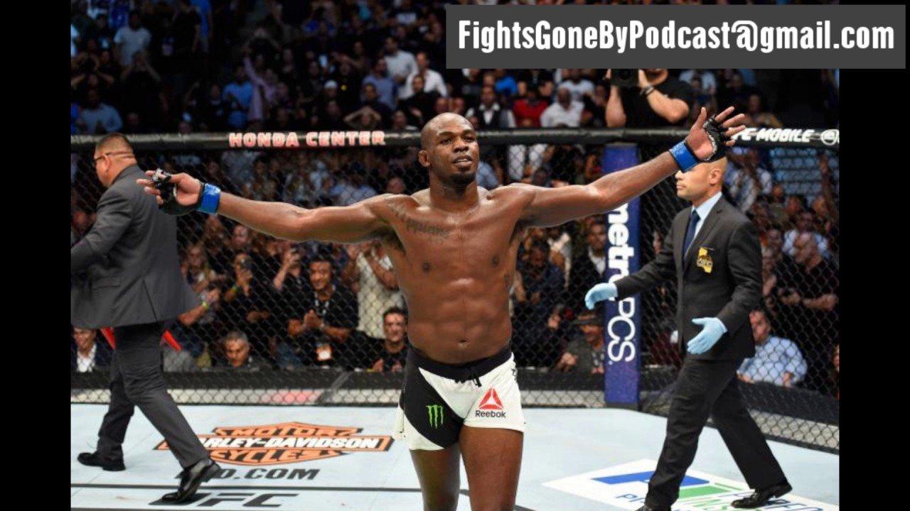 Jon Jones UFC 214 Fights gone By.