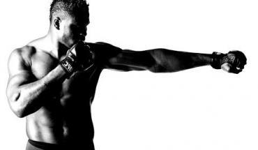 Francis NgannouUFC heavyweight fighter.